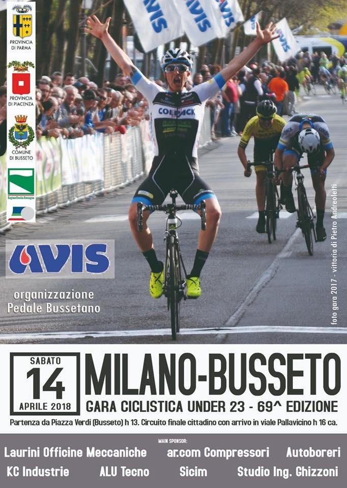69^ edizione della Milano - Busseto