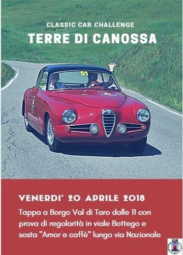 Terre di Canossa, car challenge - Tappa di Borgotaro