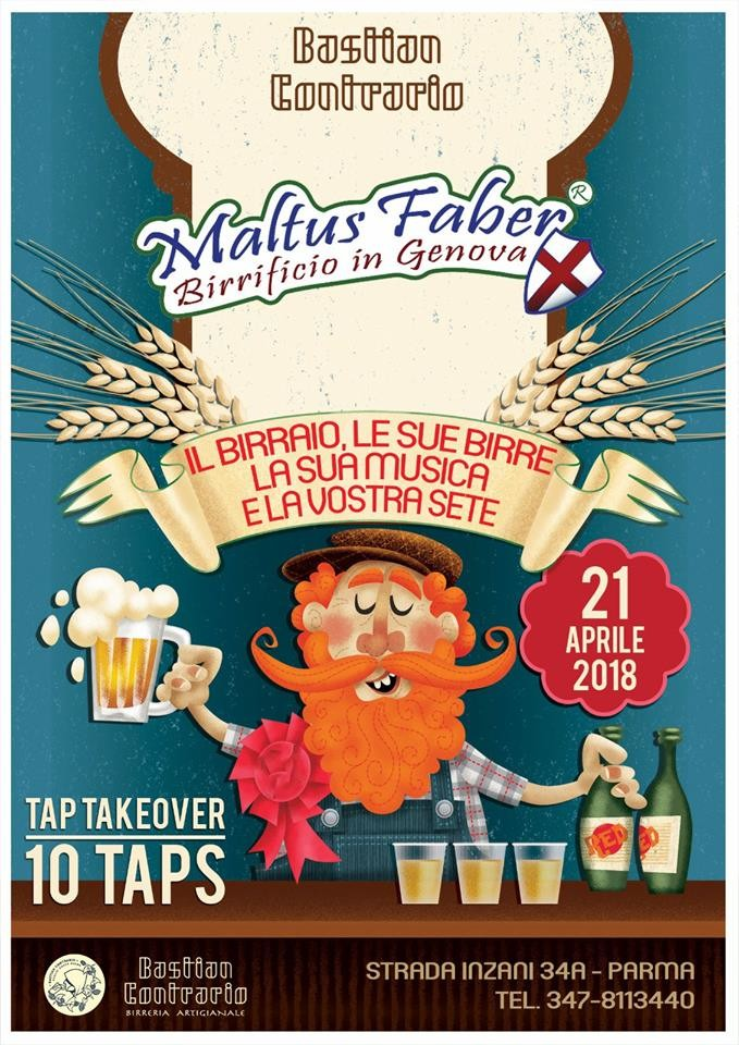 """Al Bastian Contrario pub e beershop  """"Maltus Faber"""""""