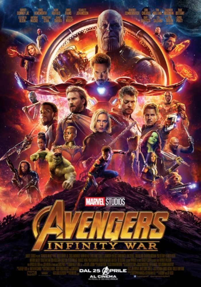 AVENGERS:Infinity War al cinema Odeon di Salsomaggiore