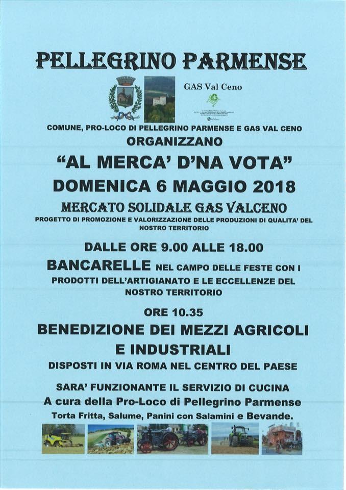 """""""M'rca' d'na vota'"""" e  Benedizione delle macchine agricole e Industriali a Pellegrino Parmense"""
