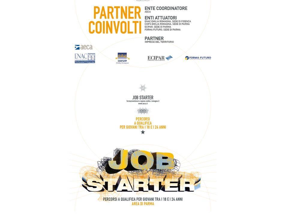 JOB STARTER  Percorsi Gratuiti a Qualifica