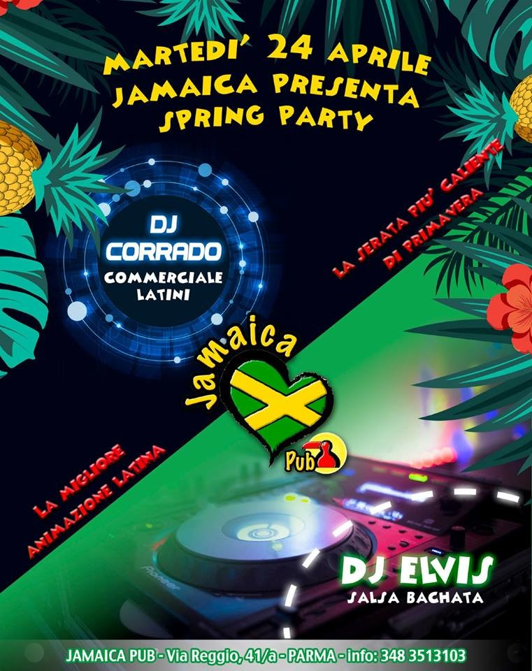 Spring Party al Jamaica Pub