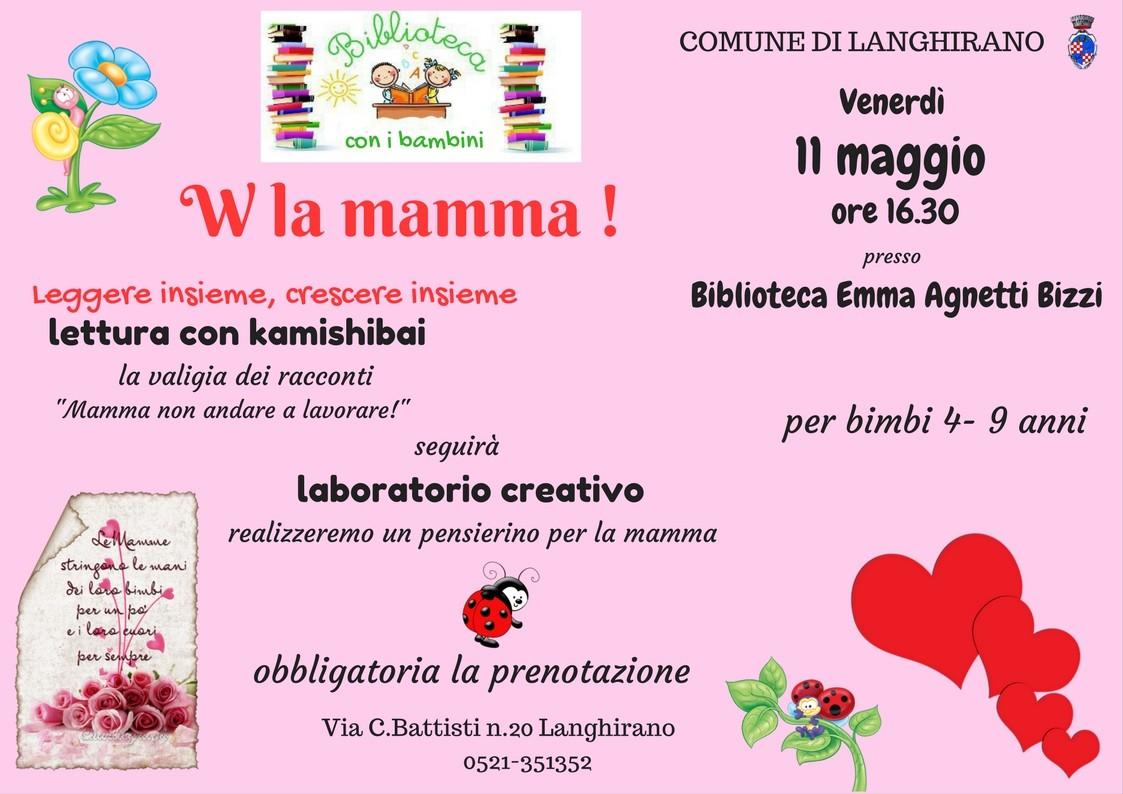 Letture e laboratorio Festa della Mamma