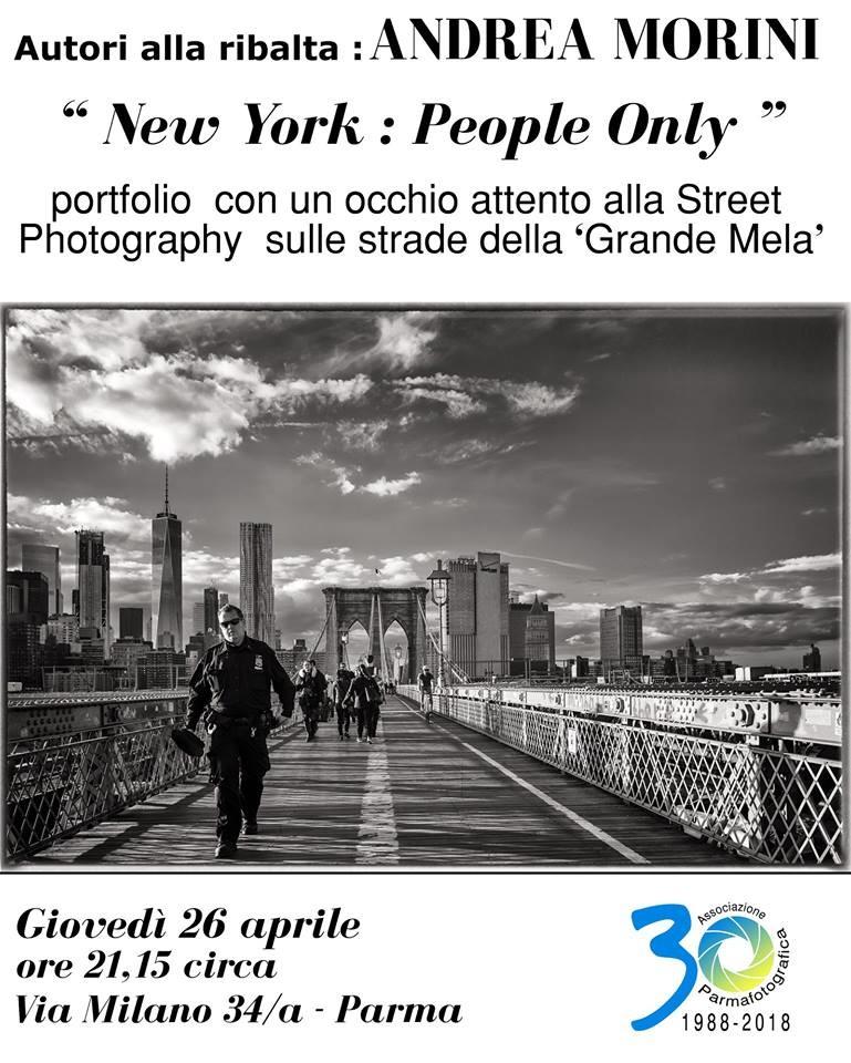 Ancora Bianco e Nero a Parmafotografica con ANDREA MORINI