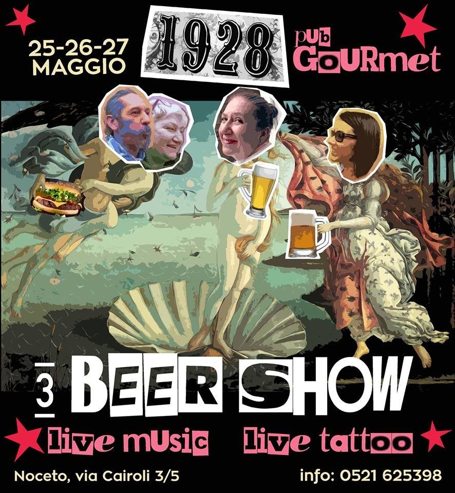 3° Beer Show and H.B.day al Diciannove Ventotto Aquila Romana