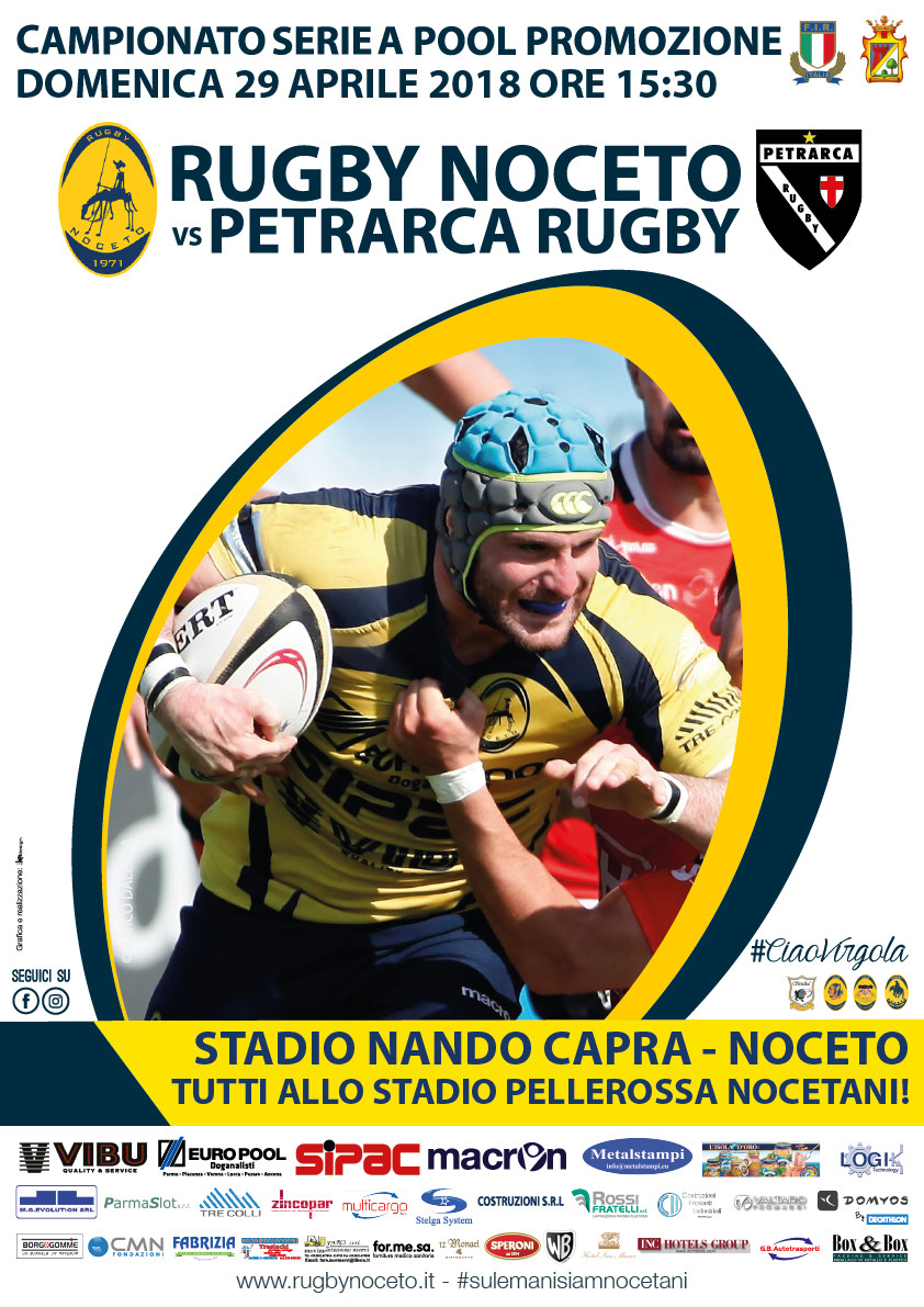 Rugby Noceto F.C. vs Petrarca Rugby