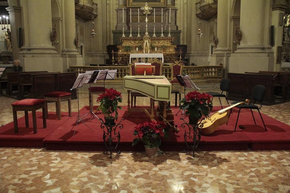 Barocco in San Rocco  LE LEGGI DEL COSMO concerto del clavicembalista Alessio Zanfardino