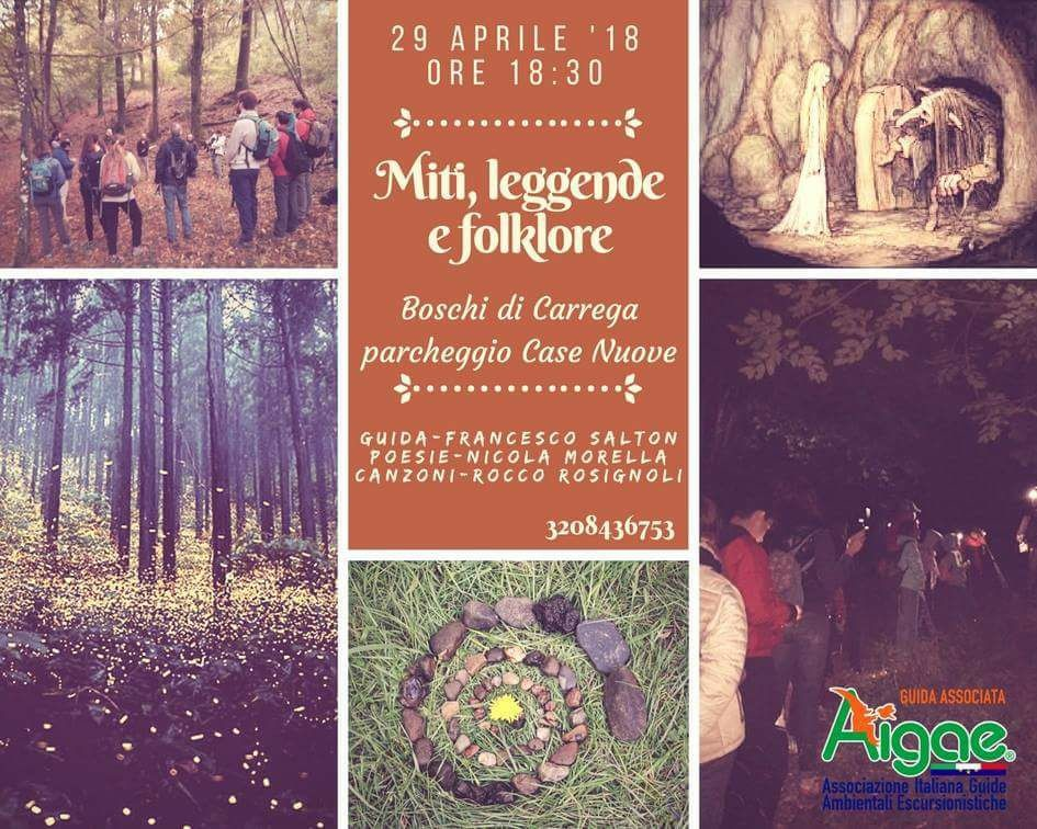 Escursione; Miti,folklore, leggende