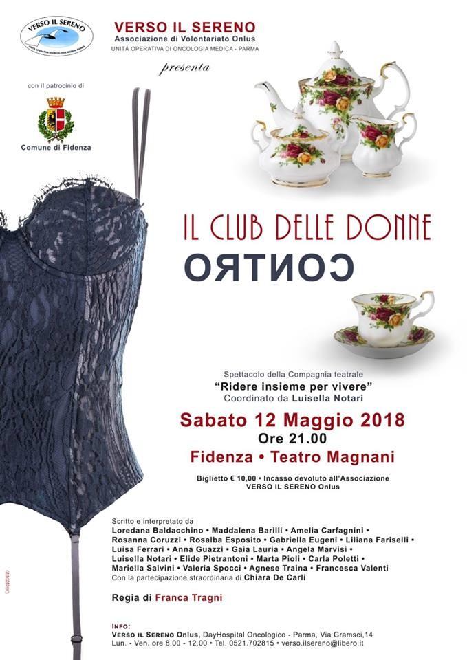 Il club delle donne contro, spettacolo teatrale