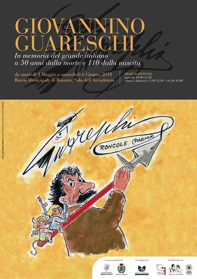 Inaugurazione Mostra Giovannino Guareschi a Busseto
