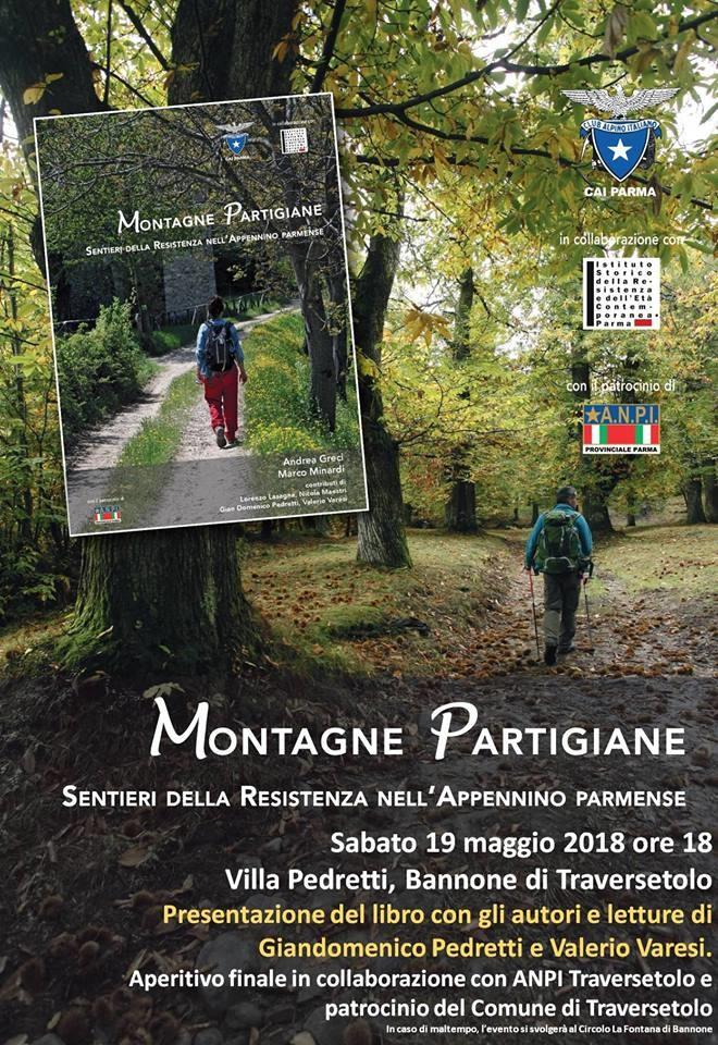Montagne partigiane. Reading di Pedretti e Varesi - Organizzato da CAI Sezione di Parma