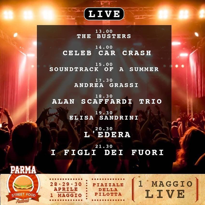 Concerto... Parma Street Food Festival... In Pilotta.