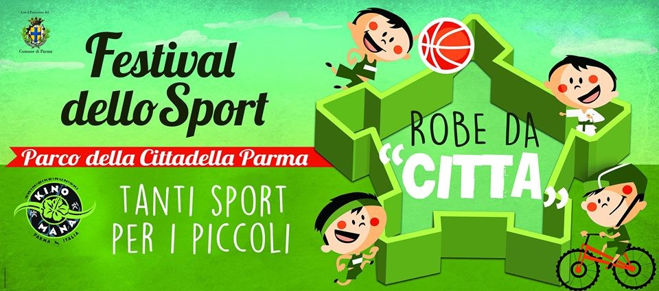 Festival dello Sport nel  Parco della Cittadella Parma