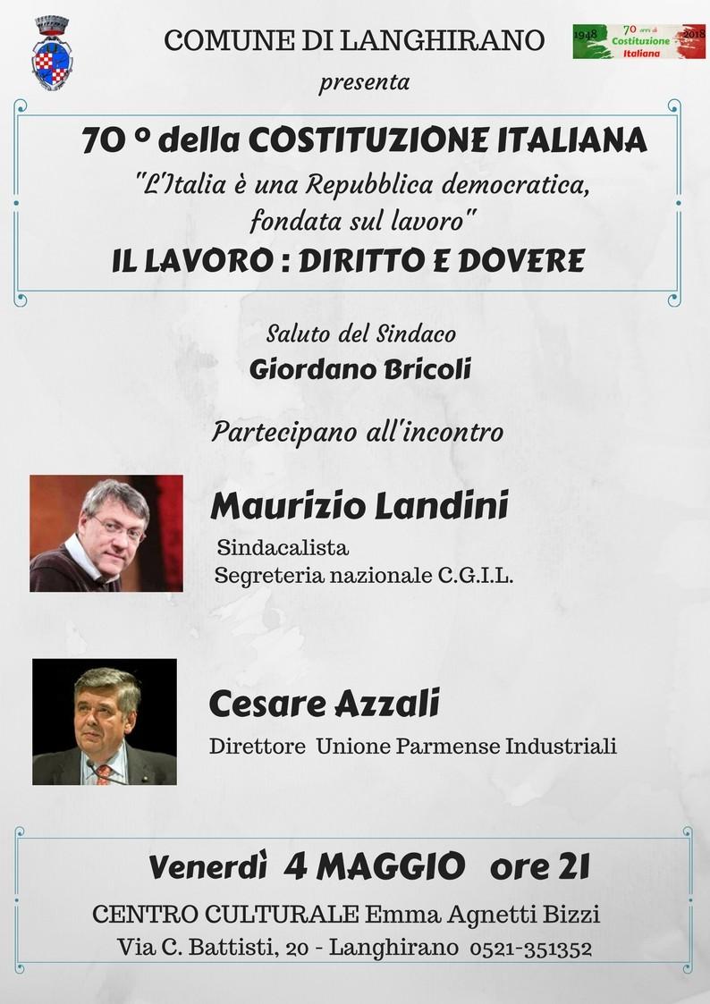 Incontro con Maurizio Landini e Cesare Azzali a Langhirano
