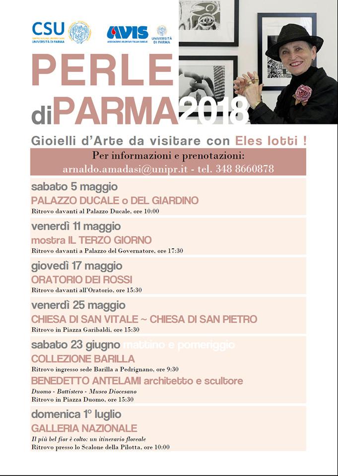 Perle di Parma, gioielli d'arte da visitare con Eles Iotti