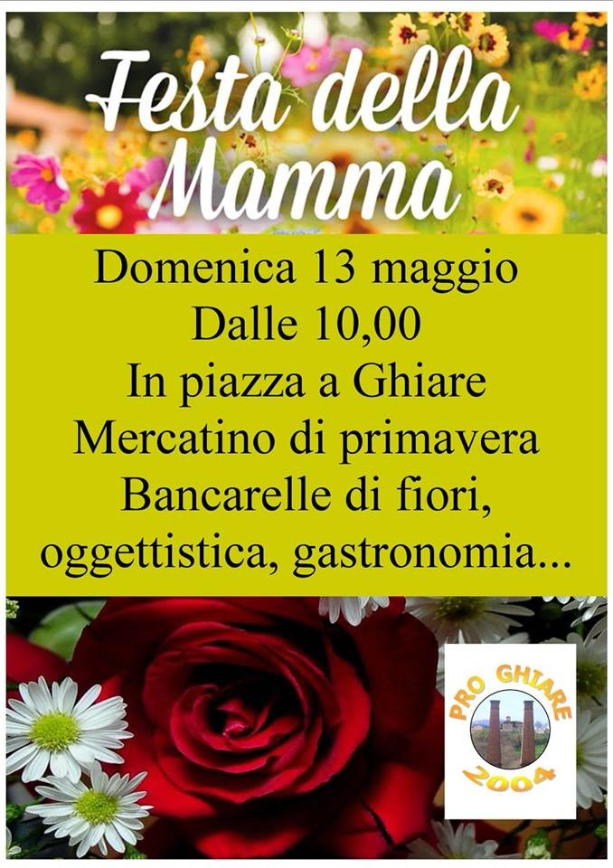 Festa della mamma a Ghiare