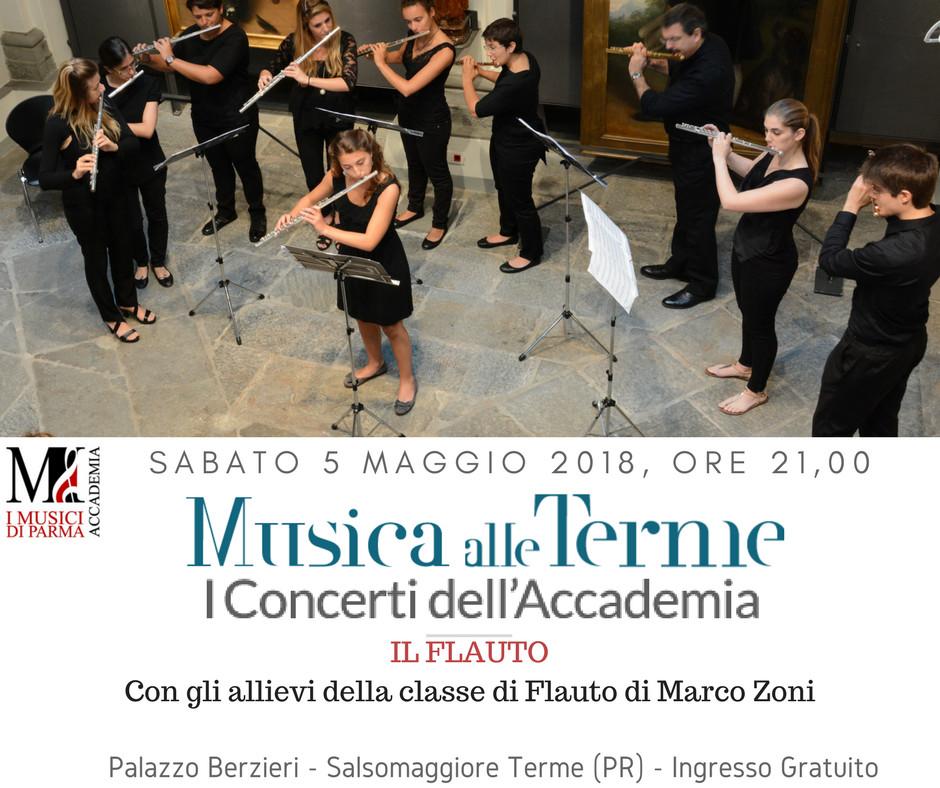 Musica alle Terme - I flautisti allievi di Marco Zoni