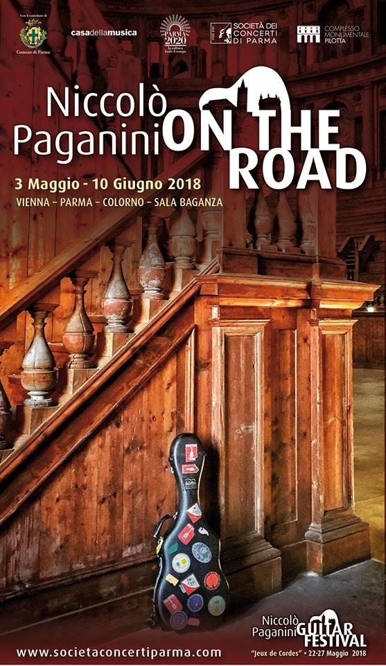 Paganini on the road aspettando  il Niccolò Paganini Guitar Festival