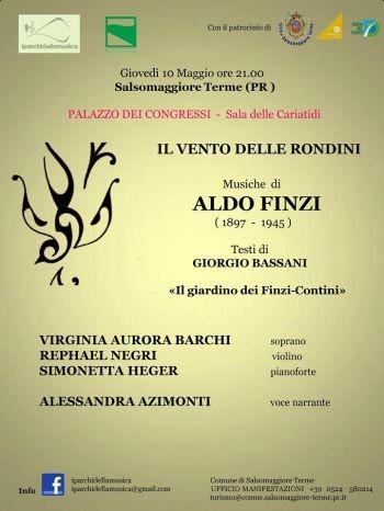 """""""Il Vento delle Rondini"""": concerto dei Parchi della Musica al Palazzo dei Congressi di Salsomaggiore Terme"""