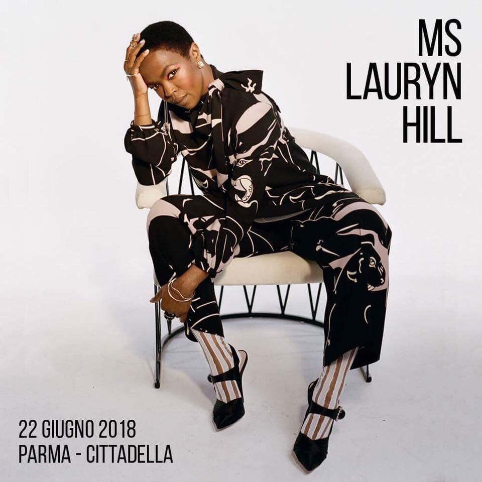 Lauryn Hill in concerto in Cittadella a Parma, unica data in Italia