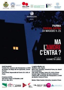 Al cinema Astra Parma  MA L'AMORE C'ENTRA?  Di Elisabetta Lodoli che sarà presente