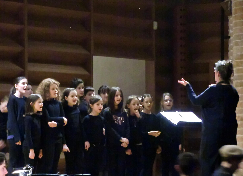 """Concerto delle Wind Band  e del Coro di Voci bianche del """"Boito"""""""