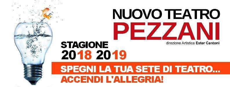 Promozione abbonamento  nuova Stagione di Prosa del Teatro Pezzani