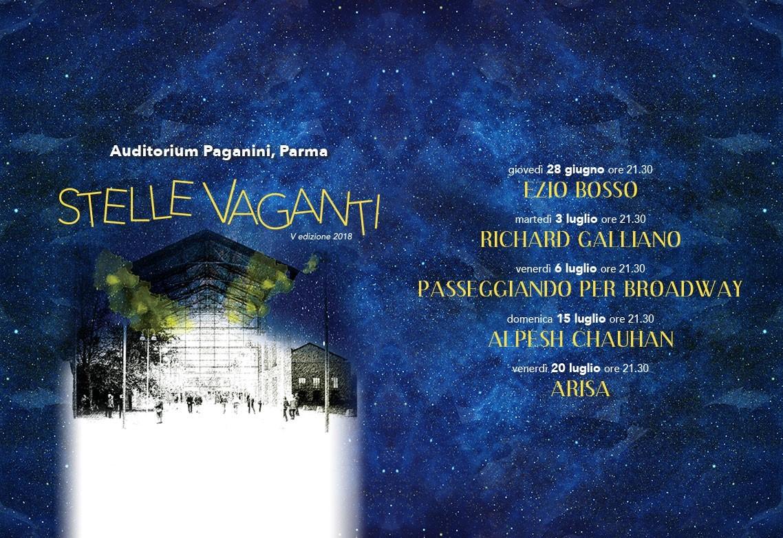 Stelle  Vaganti,  il  tradizionale  appuntamento  estivo  a  Parma  della Filarmonica  Arturo  Toscanini