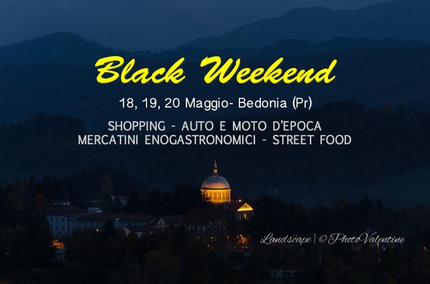 Black weekend a Bedonia
