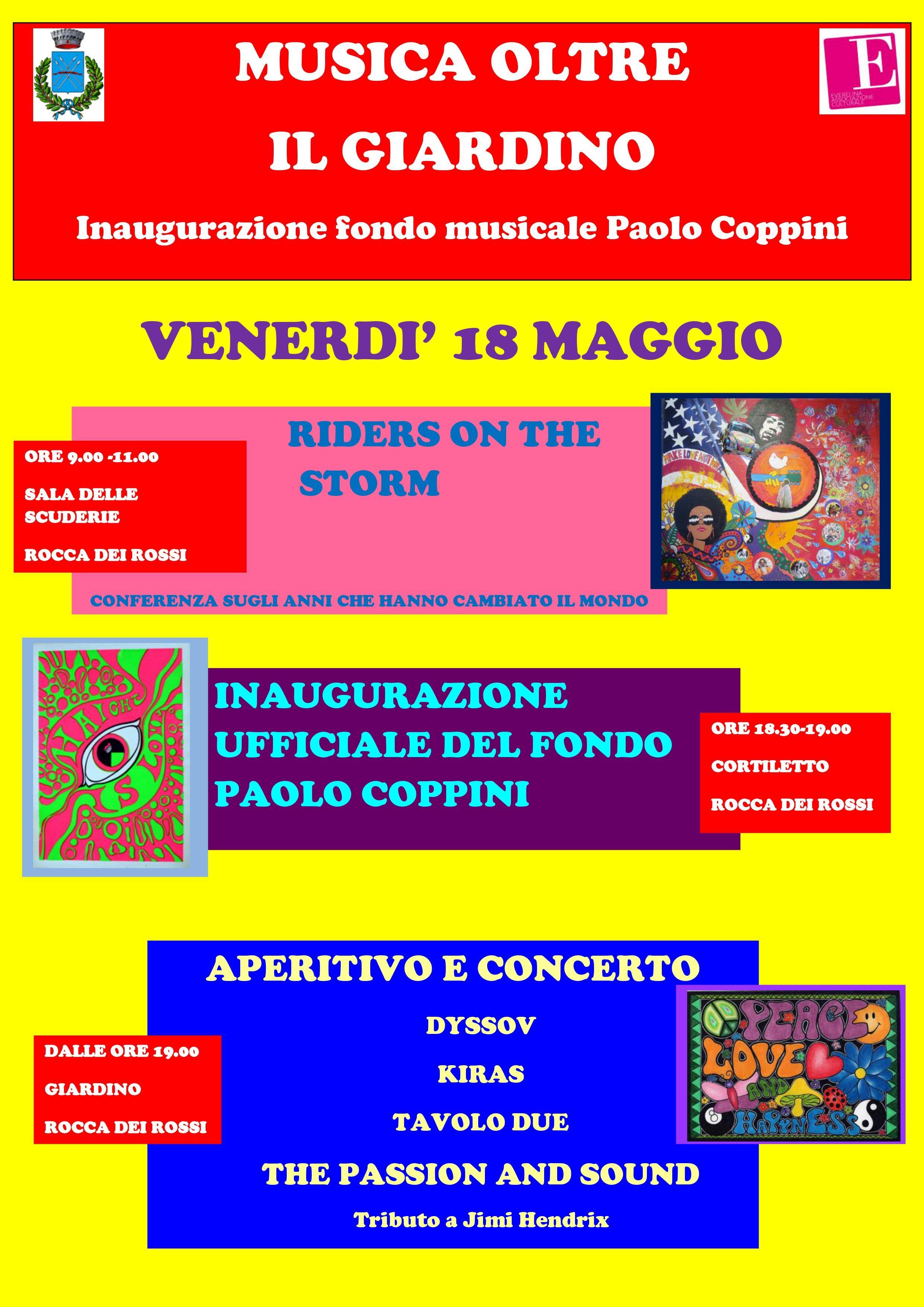 MUSICA OLTRE IL GIARDINO Inaugurazione Fondo musicale Paolo Coppini