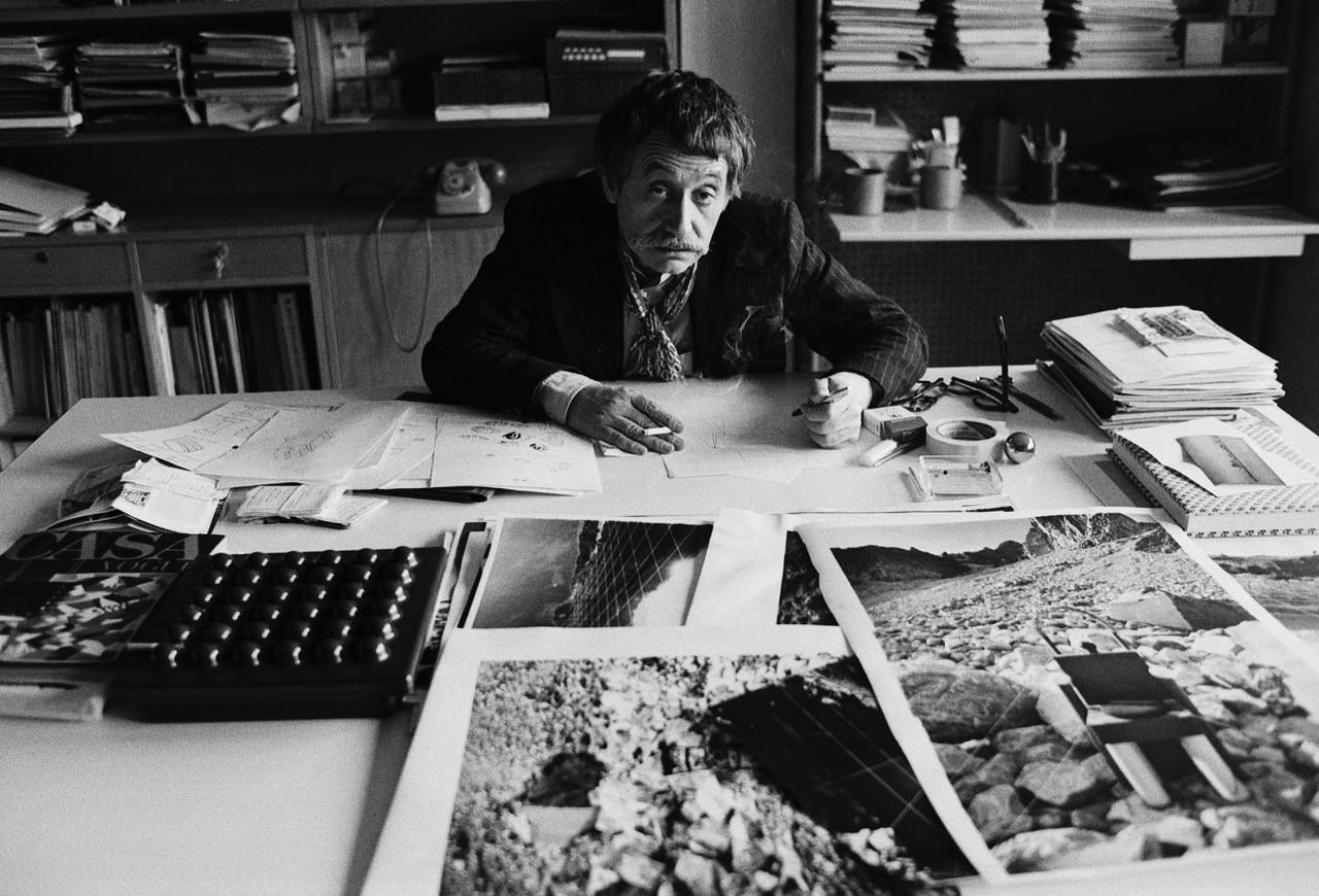 Ettore Sottsass, in dialogo sull'architettura Federico Bucci e Giampiero Bosoni con Francesca Zanella