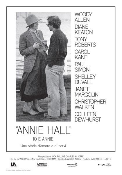 Il Cinema ritrovato:  IO & ANNIE (Annie Hall)  di Woody Allen.