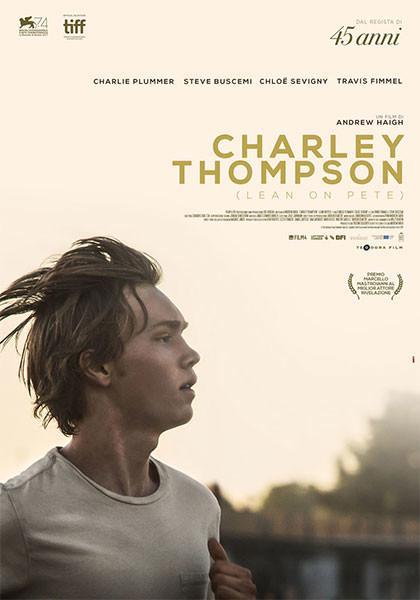 Al cinema Astra Parma CHARLEY THOMPSON (Leon Pete)  Premio M.Mastroianni al Festival di Venezia 2017