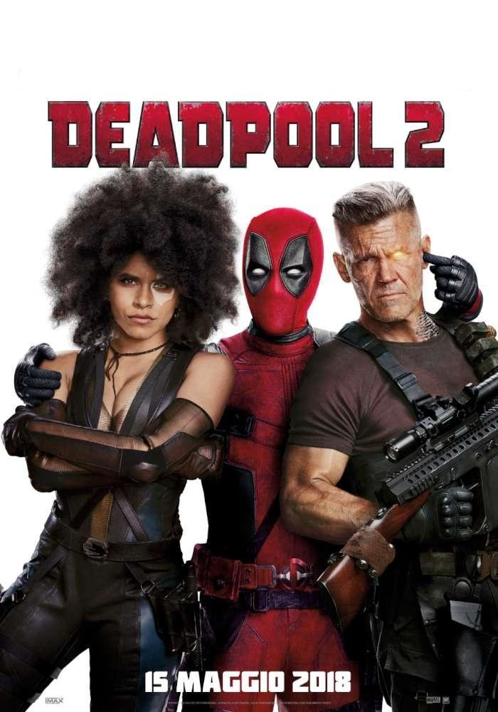 Al cinema Cristallo di Borgotaro   DEADPOOL 2