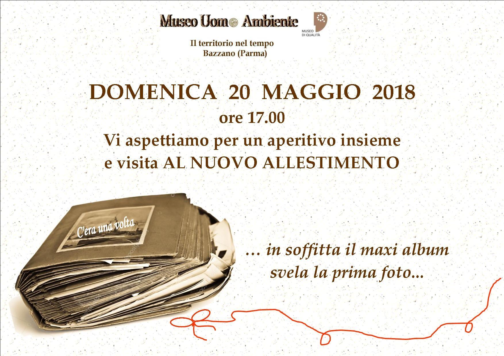 MUSEO UOMO AMBIENTE - BAZZANO Aperitivo insieme e Visita al Nuovo Allestimento nella soffitta del Museo