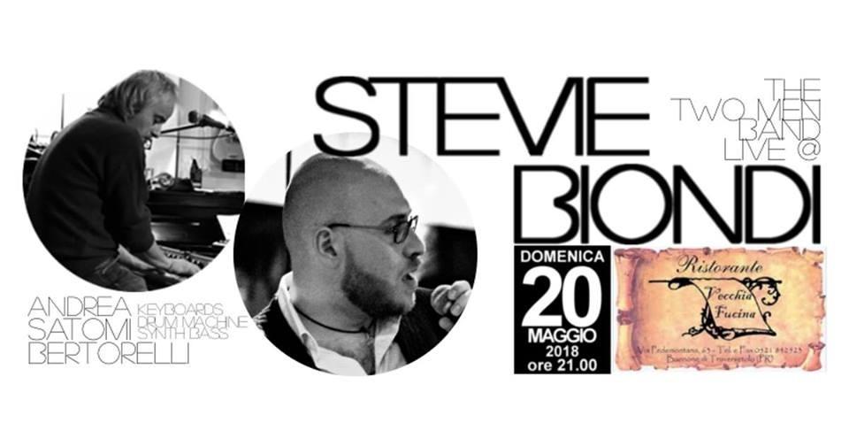 Domenica 20 Maggio  APERTURA STRAORDINARIA del ristorante VECCHIA FUCINA. Live di Stevie Biondi e Andrea Satomi Bertorelli