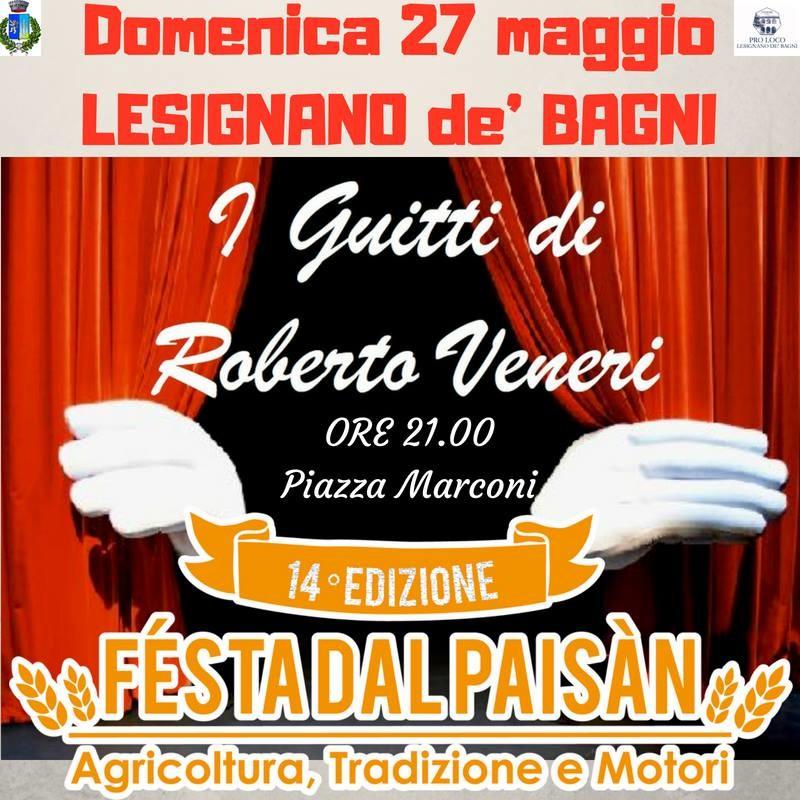 Alla Fésta dal Paisàn spettacolo dialettale con I Guitti di Roberto Veneri