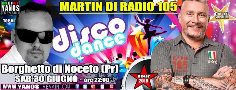 Festa di Borghetto di Noceto con Yanos Trevaini Deejay e Martin di Radio 105.