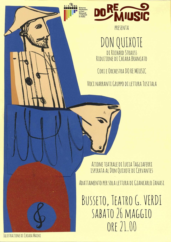 """Don Quixote""""  al Teatro  Verdi diBusseto"""