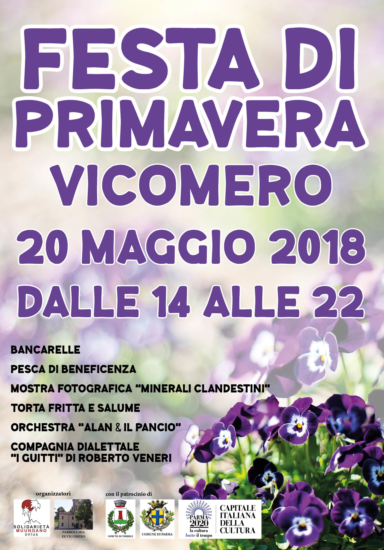 Festa di Primavera. a Vicomero