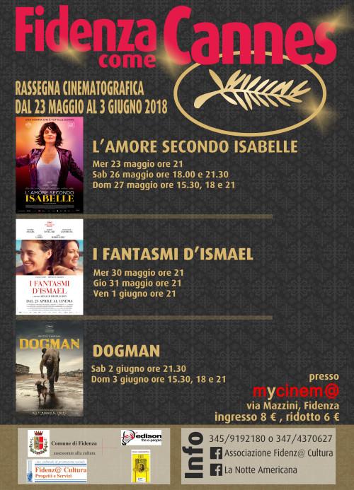 A Fidenza come Cannes, rassegna cinematografica L'AMORE SECONDO ISABELLE