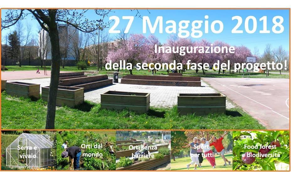 Inaugurazione seconda fase Picasso Food Forest