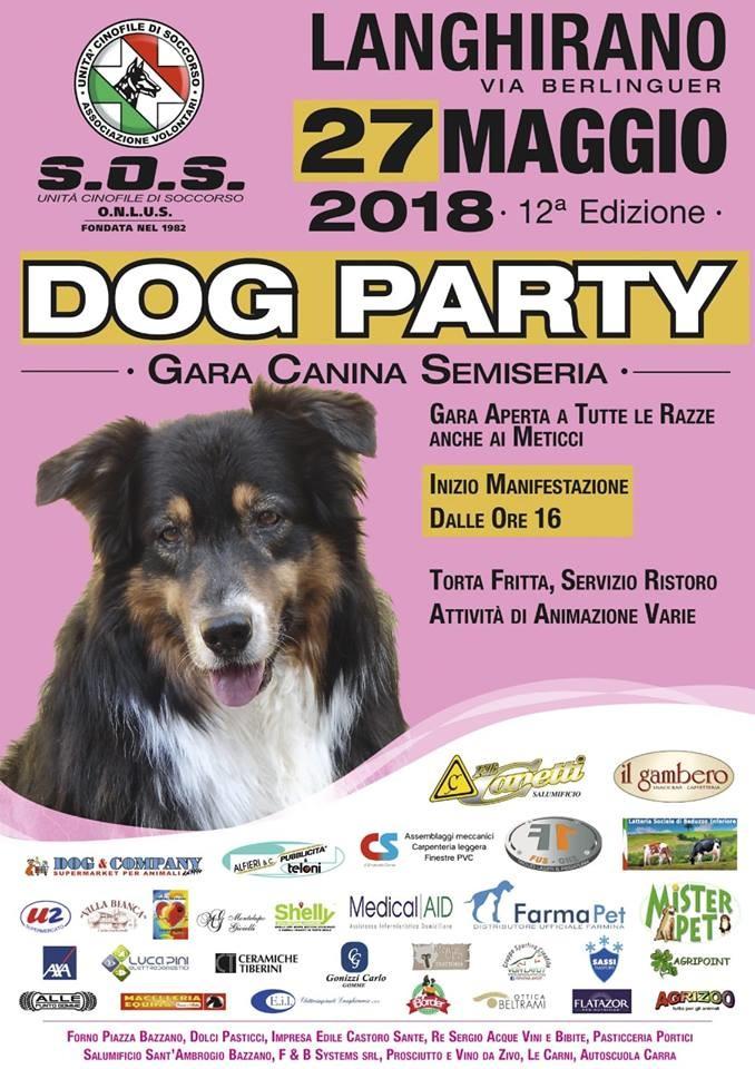 Dog party a Langhirano