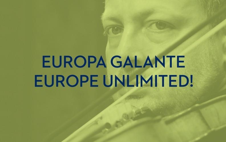 All'Arena Shakespeare EUROPA GALANTE    EUROPE UNLIMITED!  Galà d'apertura con i migranti del Barocco