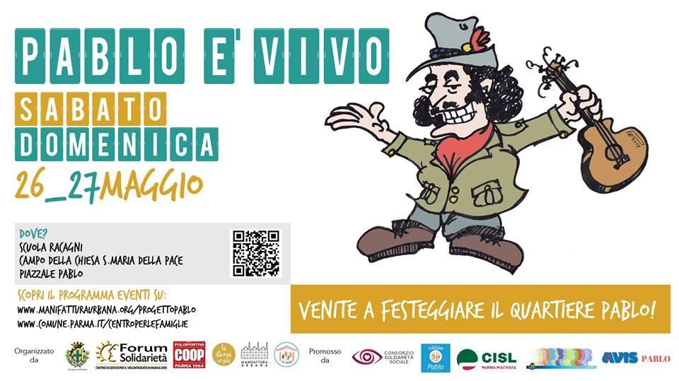Festa del quartiere Pablo_Pablo è vivo!
