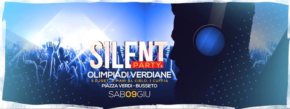 Silent Party® all' Olimpiadi Verdiane a Busseto