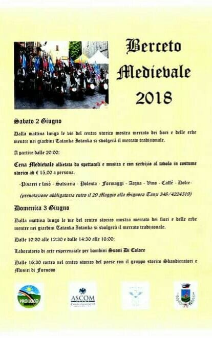Festa medievale a Berceto