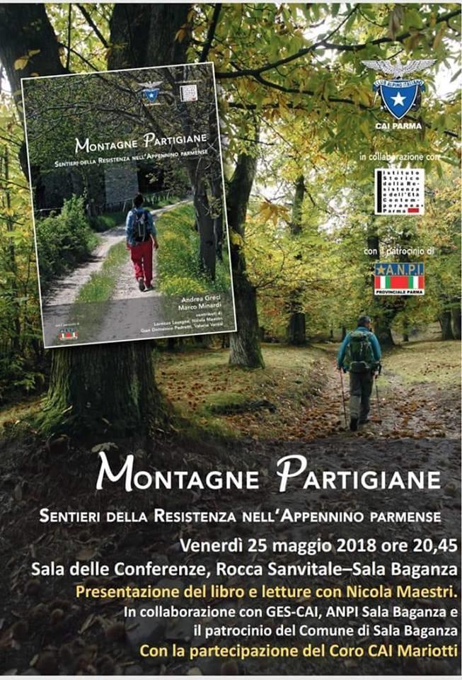 """Presentazione del libro """"Montagne partigiane"""" di Nicola Maestri"""
