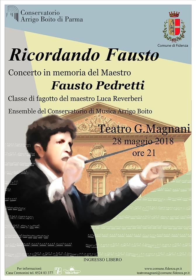 RICORDANDO FAUSTO Concerto in memoria del Maestro Fausto Pedretti (ingresso libero)